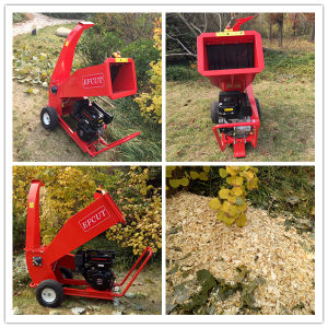 15HP Ce Certificate Wood Chipper Shredder 4 Inch pictures & photos