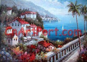 Mediterranean Sea Painting (MEDI0121)