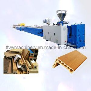WPC Wood Plastic Profile Extrusion, Production Line pictures & photos
