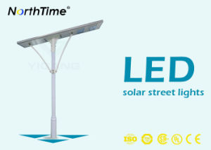High Brightness Bridgelux LED Chips 110W Integrated Solar LED Street Light pictures & photos