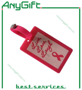 PVC Luggage Tag with Customized Logo and Color (LAG- PLT-11) pictures & photos