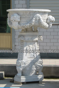 Garden Stone Flower Pot for Landscape Stone (QFP309) pictures & photos
