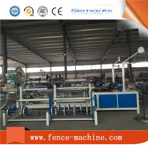 Cheap High Speed Chain Link Fence Making Machine pictures & photos