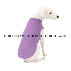 Fleece Purple Dog Coats Winter Clothes for All Breeds pictures & photos
