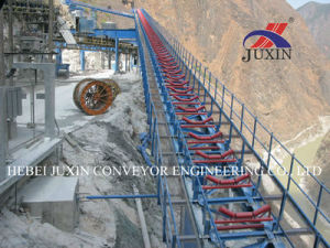 Belt Conveyor System Used for Cola Mining Cement pictures & photos