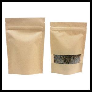 Food Grade Standing up Paper Zip Lock Bag for Food