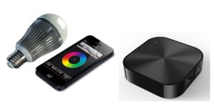 Smart LED Light, Controlled by Mobile-Phone with Smart Functions