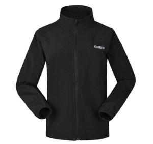 Custom Women′s Dustproof Waterproof Softshell Jacket pictures & photos