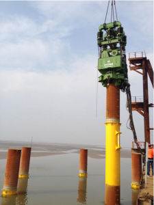 Ep Series Vibratory Pile Driver with Adjustable Eccentric Moment 1