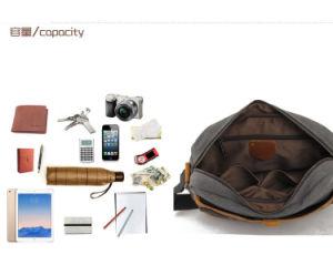 Redswan Canvas Crossbody Everday Satchel Bag Shoulder Travel Portfolio Bag (RS-6006) pictures & photos