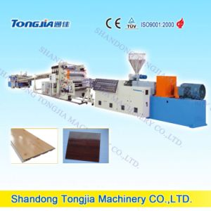 Wood Plastic Construct Plate Extruder Extrusion Production Line (JG-BC) pictures & photos
