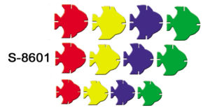Educational Toys, Blocks, Tropical Fish Blocks (S-8601)