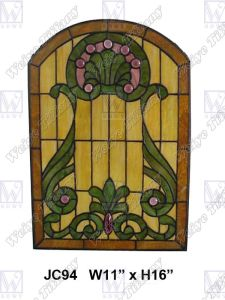 Stained Glass Panel (JC94)