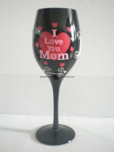 Handpainted Champagne Glass Gift (B-0623A) pictures & photos