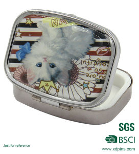 Promotional Fashion Pocket Mirror with Printing Logo pictures & photos
