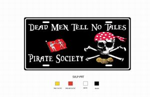 American Decorative License Plate (DEAD MAN) pictures & photos