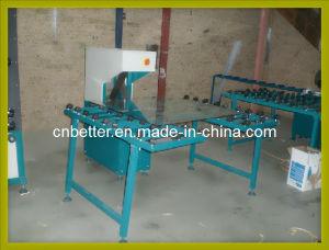 Double Glass Machine/ Insulating Glass Making Machine/Sand Belt Glass Edge Finishing Machine/ Glass Edge Polishing Machine (SM95) pictures & photos