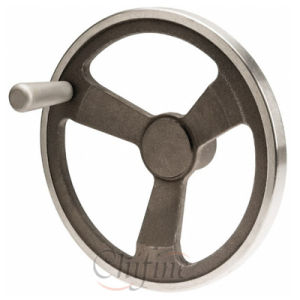 Customized Stainless Steel Casting Handwheel pictures & photos