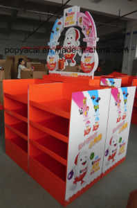 Kinder Choclolate Customized Cardboard Pallet Display, Seasonal Cardboard Display Stand for Promotions! pictures & photos