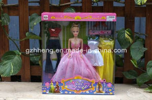 Custom Printing Plastic & Paper Folding Box for Barbie toys (gift boxes) pictures & photos