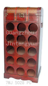 Wooden Wine Rack (7MJ 5028)