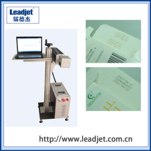 Leadjet CO2 Laser Expiry Date Coding Marking Machine pictures & photos