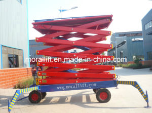 Electric Mobile Scissor Lift (SJYL) pictures & photos