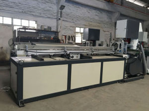 High Speed Toilet Tissue Paper Maxi Roll Cutting Machine pictures & photos
