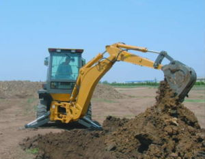 Backhoe Loader with CE (4WD) (WZ30-25)