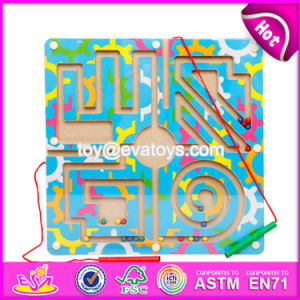 New Product Kids Educational Toy Wooden Magnetic Maze Puzzles W11h017 pictures & photos