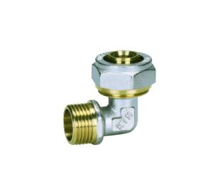 Nickel-Plating Brass Male Elbow -Tubing, Plumbing Water, Gas, plastic Pipe Fitting pictures & photos