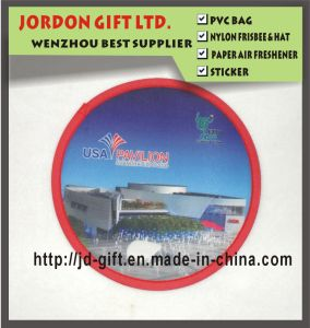 Promotion Polyester Frisbee with Colorful Cusotm Logo pictures & photos