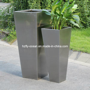 Fo-9010 Decorative Stainless Steel Plant Pots pictures & photos