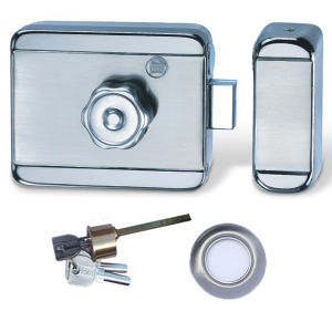 China Electric Door Lock With Iron Electroplating