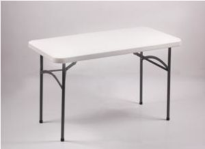 4 Foot Dining Coffee Rectangle Plastic Folding Table (SY-122Z) pictures & photos