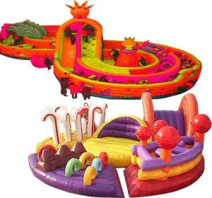 EN71 Certificate Inflatable Funcity/Amusement Park pictures & photos