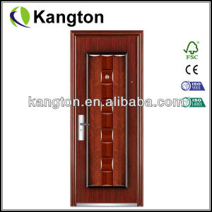 Department Iron Door (steel security door) pictures & photos