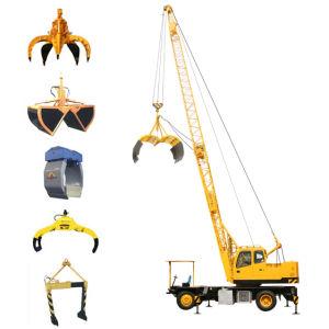 Dual-Power Grab Crane With Lattice Boom Capacity 12 Ton (QLYS12Hz)