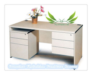High Quality MDF Material Office Desk (OD-08) pictures & photos