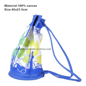 Customized Design Standard Size Thick Canvas Tote Bag pictures & photos