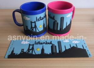 PVC 3D Istanbul Mug Cup, Custom Plastic Brush Pot Cup pictures & photos