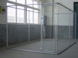 Outdoor Large Metal Chink Link Welded Mesh Dog Cage pictures & photos