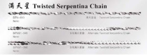 Stainless Steel Twisted Serpentina Chain (GTN) pictures & photos