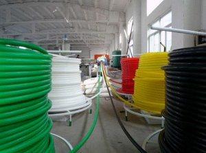 Corrugated Optic Duct (COD) Pipe Plastic Machine Line pictures & photos