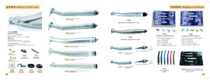 High Quality Torque Pushbotton Dental Handpiece pictures & photos