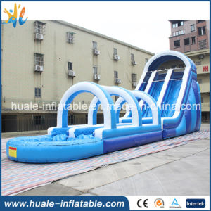 Giant Inflatable Water Slide with Pool, Adult Size Inflatable Water Slide for Sale pictures & photos