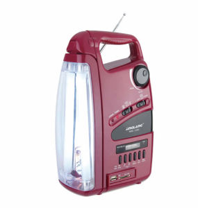 Rechargeable Emergency Light with USB/Radio 288u