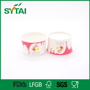 Factory Supply Wholesale Disposable Ice Cream Paper Bowl with Lid pictures & photos