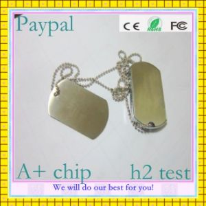 Paypay Payment Dog Tag USB Pen Drive (GC-M004) pictures & photos