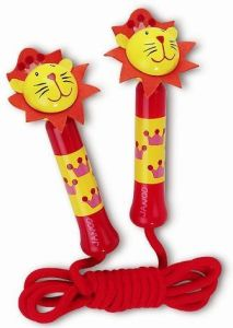 Wooden Lion Skipping Rope (WD7306)